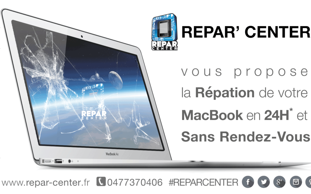 Réparation de Macbook à Saint-Étienne