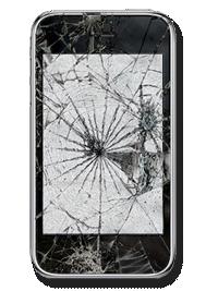 Remplacement écran lcd et vitre tactile iphone 3GS
